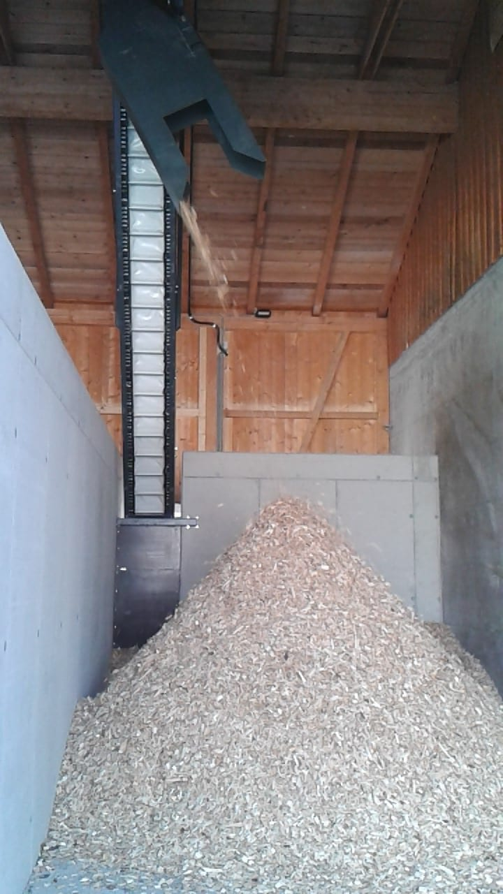 Drying plant for bulk materials